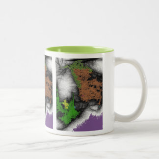 Tree Frost Abstract Expressionism Mug