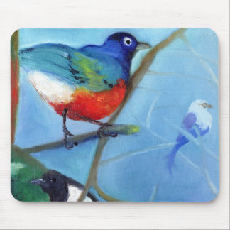 Tree Full of Birds 2012 Mouse Pad