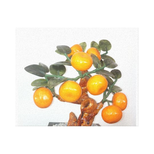 Tree full of fruit - Great feng shui - picture Canvas Print