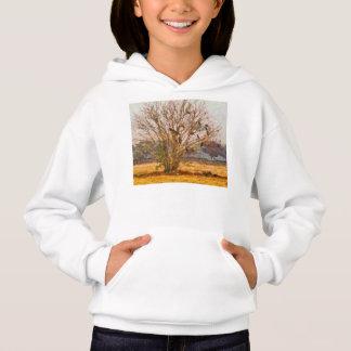 Tree full of large birds hoodie