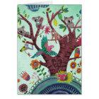 Tree full of life Kids Koala Art   Birthday Card