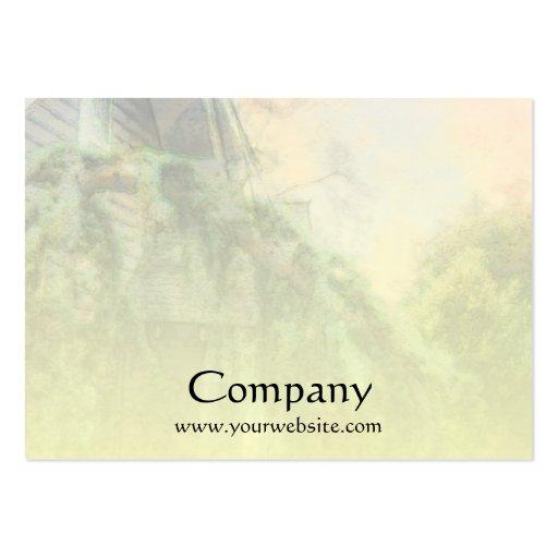 Tree Garden Business Card Templates