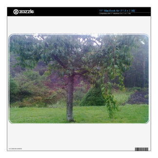 Tree Garden MacBook Air Decals