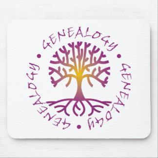 Tree Genealogy Mouse Pad