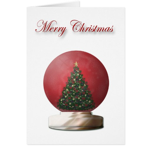 Tree Globe Card