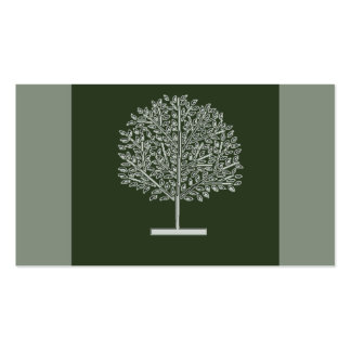 tree glow Double-Sided standard business cards (Pack of 100)