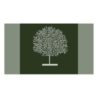 tree glow business cards