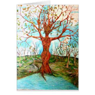 Tree Goddess Card