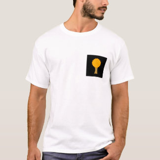 Tree. Golden Autumn colors. Funky Design. T-Shirt