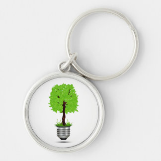 tree graphic in lightbulb base ecology design.png keychain