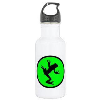 tree green FROG Water Bottle