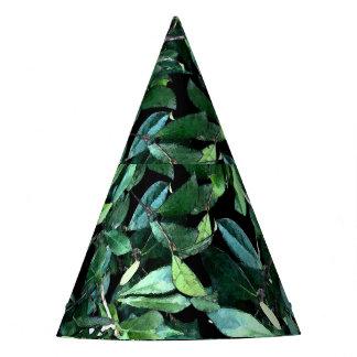 Tree Green Leaf Custom Party Hat
