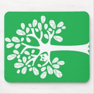 Tree_Green Mousepads