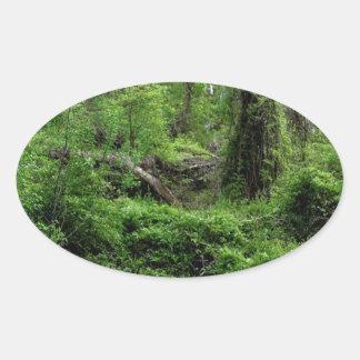 Tree Greener Wood Sticker
