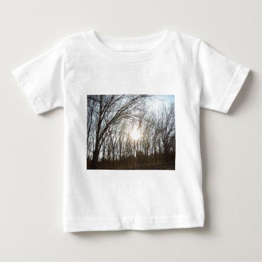 Tree Grove with Sunlight Baby T-Shirt