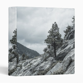 Tree Growing Out Of The Rocks Binder