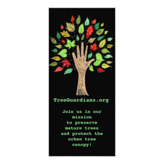 Tree Guardians Book Mark! Rack Card