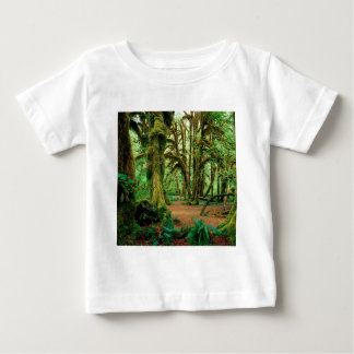 Tree Hall Of Mosses Olympic National Baby T-Shirt