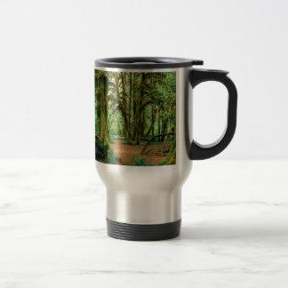 Tree Hall Of Mosses Olympic National Travel Mug