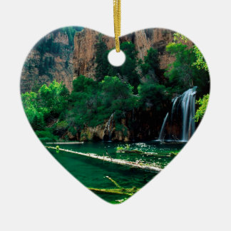 Tree Hanging Lake Glenwood Canyon Colorado Ceramic Ornament
