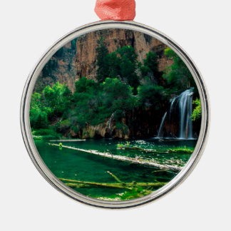 Tree Hanging Lake Glenwood Canyon Colorado Metal Ornament
