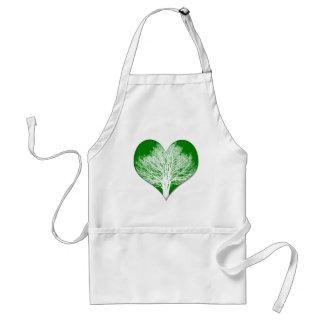 Tree Heart Adult Apron