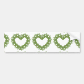 tree heart bumper sticker