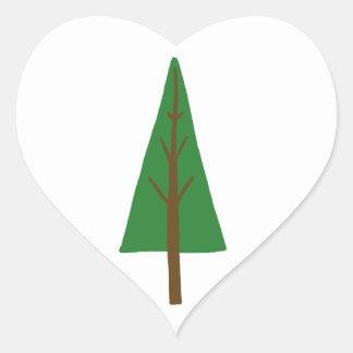 Tree Heart Sticker