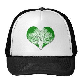 Tree Heart Trucker Hat
