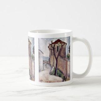 Tree House By Modigliani Amedeo Coffee Mug