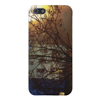 Tree House – Gold and Blue Glory iPhone 5 Cover