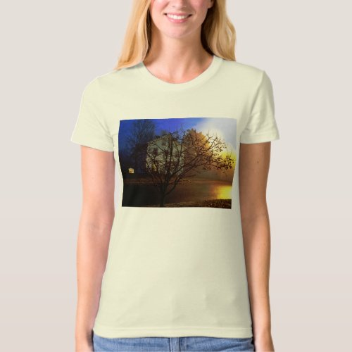 Tree House – Gold and Blue Glory T-Shirt