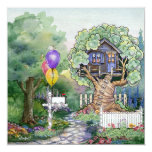 Tree House Invitation
