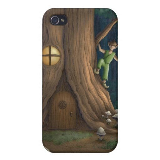 Tree House iPhone 4/4S Cover