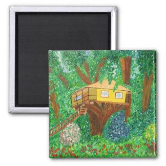 Tree House Magnet