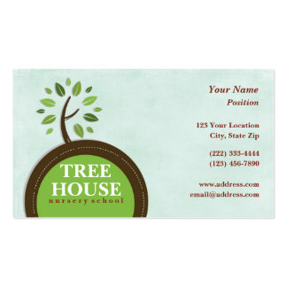 Tree House Nursery Business Cards