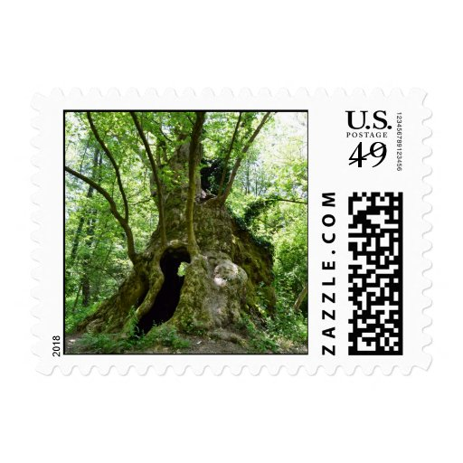 Tree House Postage Stamps