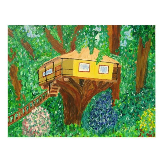 Tree House Postcard
