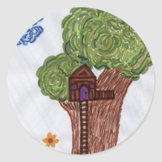 Tree House Stickers