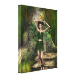 Tree House Stretched Canvas Print