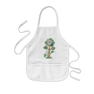 Tree House Toddler Baby Aprons