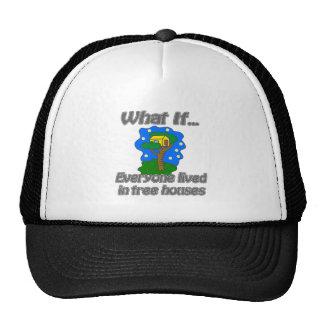 Tree Houses Trucker Hat