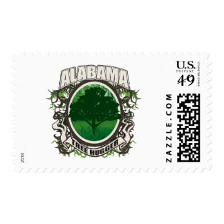 Tree Hugger Alabama Postage