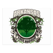 Tree Hugger Arkansas Postcard