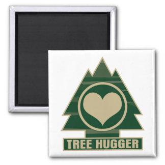 Tree Hugger at Heart Magnet