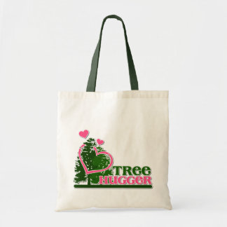 Tree Hugger Canvas Bags