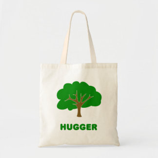 Tree Hugger Budget Tote Bag
