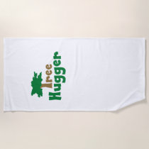Tree Hugger Beach Towel