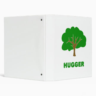 Tree Hugger Vinyl Binders