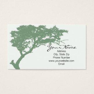Tree Hugger Business Card